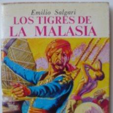Livros de Banda Desenhada: MINIBIBLIOTECA DE LA LITERATURA UNIVERSAL **LOS TIGRES DE MALASIA**. EMILIO SALGARI. Lote 52324628