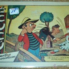 Tebeos: CUCU CUENTOS HUMORISTICOS - Nº 15 ÚLTIMO Y SIN ABRIR - ORIGINAL SORIANO 1958-IMPORTANTE LEER DESCRI. Lote 52357194
