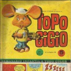 Tebeos: TOPO GIGIO - AÑO I NUMEROS 19 Y 20 - DOS COMICS. Lote 52669571