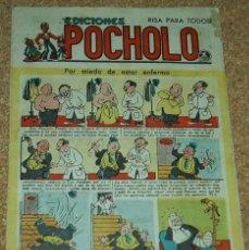 Tebeos: POCHOLO EDICIONES Nº 37 - 1945 - ORIGINAL EN BUEN ESTADO. Lote 52669813
