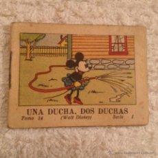 Tebeos: JUGUETES INSTRUCTIVOS MICKEY . SERIE I TOMO 14 , UNA DUCHA DOS DUCHAS 1936. CALLEJA. Lote 52670030