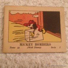 Tebeos: JUGUETES INSTRUCTIVOS MICKEY . SERIE I TOMO 18 , MICKEY BOMBERO 1936. CALLEJA. Lote 52670072