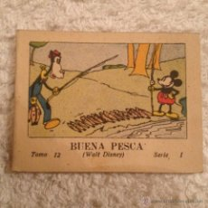 BDs: JUGUETES INSTRUCTIVOS MICKEY . SERIE I TOMO 12 , BUENA PESCA 1936. CALLEJA. Lote 52670227