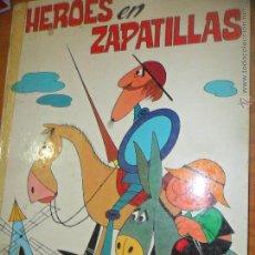 Tebeos: HEROES EN ZAPATILLAS - PISANI & GAVIOLI - ED. PAULINAS 1979 - ALBUM TAPA DURA. Lote 52819267