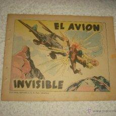 Tebeos: EL AVION INVISIBLE . EDITORIAL ESPAÑOLA . SAN SEBASTIAN. Lote 52870655