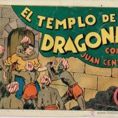 Tebeos: JUAN CENTELLA,EL TEMPLO DE LOS DRAGONES,TEBEO ORIGINAL.. Lote 53132115