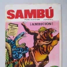 Tebeos: SAMBU Nº 4 - EDITORIAL VILMAR.. Lote 53309183
