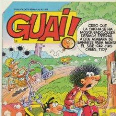 Livros de Banda Desenhada: GUAI Nº 104.. Lote 53334519