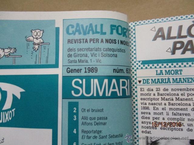Tebeos: Tomo de Cavall Fort del 635 al 658 - Foto 5 - 53371026
