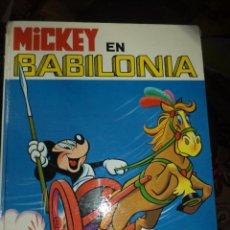 Tebeos: MICKEY EN BABILONIA.WALT DISNEY 1973.EDICIONES RECREATIVAS.COLECCIÓN JAJA Nº2.TAPA DURA.. Lote 53399449