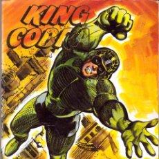 Livros de Banda Desenhada: COMIC KING COBRA: RETAPADO CON LOS NUMEROS 1, 2, 3 Y 4. Lote 53646787