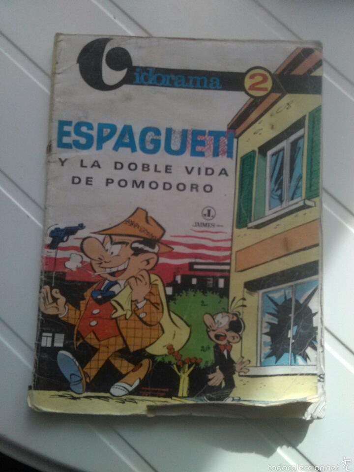 COMIC ESPAGUETI Y LA VIDA DE POMODORO N'2 (Tebeos y Comics - Tebeos Otras Editoriales Clásicas)