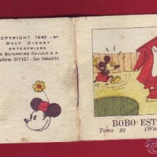Tebeos: BOBO ESTA IMPOSIBLE, CALLEJA 1942, WALT DISNEY - TOMO 96 SERIE V. Lote 54288364