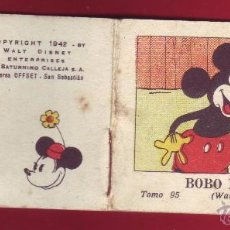 Tebeos: BOBO BROMISTA, CALLEJA 1942, WALT DISNEY - TOMO 95 SERIE V. Lote 54288381
