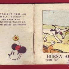 Tebeos: BUENA ACCION DE MICKEY, CALLEJA 1942, WALT DISNEY - TOMO 97 SERIE V. Lote 54288426