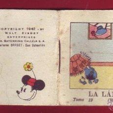 Tebeos: LA LAMPARA ROTA, CALLEJA 1942, WALT DISNEY - TOMO 19 SERIE I. Lote 54288434