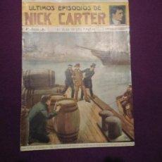 Tebeos: ULTIMOS EPISODIOS DE NICK CARTER. Lote 54347337