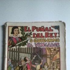Tebeos: EL GATO NEGRO - EL PUÑAL DEL REY - COLECCION COMPLETA 20 NUMEROS - 1932. Lote 54566229