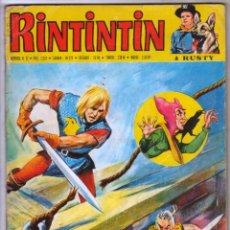 Tebeos: RIN TIN TIN RINTINTIN Nº 31 1972 - 68 PGS EN FRANCES - CON GERFAUT, THUNGA LE SHERIF INDIEN,KID ROY. Lote 54582476