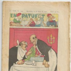 Tebeos: EN PATUFET Nº 1454 - 13 FEBRER 1932. Lote 54729076