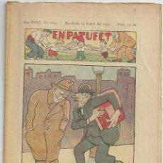 Tebeos: EN PATUFET Nº 1619 - 13 ABRIL 1935. Lote 54730497