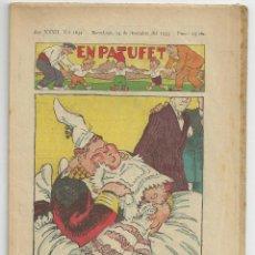 Tebeos: EN PATUFET Nº 1654 - 14 DESEMBRE 1935. Lote 54730605