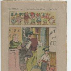 Tebeos: EN PATUFET Nº 1746 - 8 D'OCTUBRE 1937. Lote 54730626