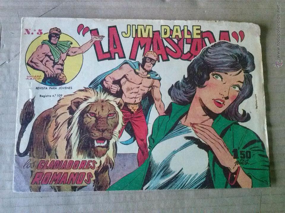 JIM DALE - LA MASCARA Nº 5 - CREO- ORIGINAL , TA (Tebeos y Comics - Tebeos Otras Editoriales Clásicas)