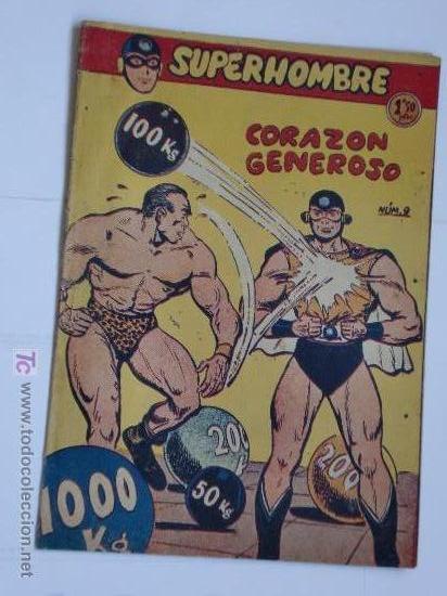 SUPERHOMBRE Nº 9 ORIGINAL (Tebeos y Comics - Tebeos Otras Editoriales Clásicas)