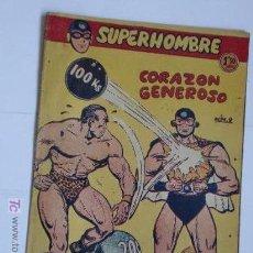 Tebeos: SUPERHOMBRE Nº 9 ORIGINAL. Lote 47812341