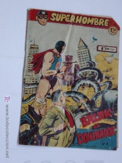 SUPERHOMBRE Nº 4 ORIGINAL (Tebeos y Comics - Tebeos Otras Editoriales Clásicas)