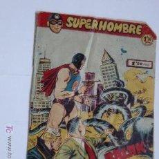 Tebeos: SUPERHOMBRE Nº 4 ORIGINAL. Lote 47812365