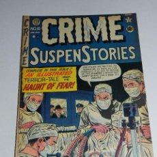 Tebeos: (M22) CRIME SUSPENSTORIES MAY 1952 VOL 1 NUM 10 PUBLISHED BI-MONTHLY , ORIGINAL. Lote 54910489