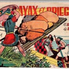 Tebeos: Nº 7 AYAX EL GRIEGO. EDITORIAL CREO 1960. CUADERNOS ORIGINALES. Lote 180933215