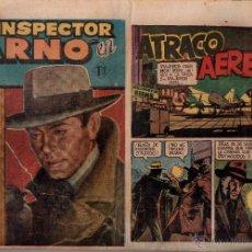 Tebeos: Nº 5 EL INSPECTOR ARNO. GESTION EDITORIAL, 1956. CUADERNOS ORIGINALES. Lote 54924110