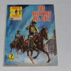 Tebeos: (M0) INDOMITO OESTE NUM 43 , PRODUCCIONES EDITORIALES 1971 , SEÑALES DE USO. Lote 55241059