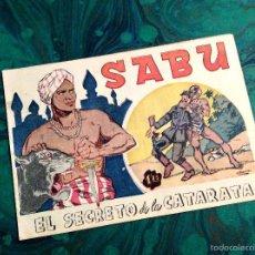 Livros de Banda Desenhada: SABU (ASPIRACIONES - 1949). Nº 3. Lote 55326348
