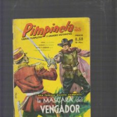Tebeos: PINPINELA, LLA MASCARA DEL VENGADOR -ED. MEXICO AÑO 1953. Lote 55843536