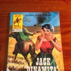 Tebeos: INDOMITO OESTE / GRAN OESTE Nº 415 JACK DINAMITA. PRODUCCIONES EDITORIALES 1978. . Lote 56041903