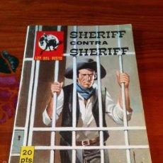 Tebeos: COLECCION OESTE SIN NUMERO S/N. LEY DEL OESTE. SHERIFF CONTRA SHERIFF. VILMAR 1981. Lote 56182702