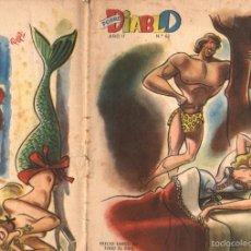 Tebeos: POBRE DIABLO Nº 63 (1947) TEBEO DE ARGENTINA. Lote 56464108