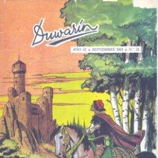 Tebeos: DUWARIN Nº26 (SEPTIEMBRE 1963). CARLOS GIMÉNEZ, BLANES, BIELSA, BROCAL REMOHI Y OTROS GRANDES DEL TE. Lote 56467622