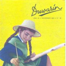 Tebeos: DUWARIN Nº28 (NOVIEMBRE 1963). CARLOS GIMÉNEZ, BLANES, GABI, BROCAL REMOHI, BIELSA Y OTROS GRANDES. Lote 56467666