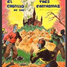 Tebeos: TEBEOS-COMICS CANDY - NOSTALGIA - EL CASTILLO DE LOS TRES FANTASMAS - 1936 *OFERTA *AA99. Lote 56484384