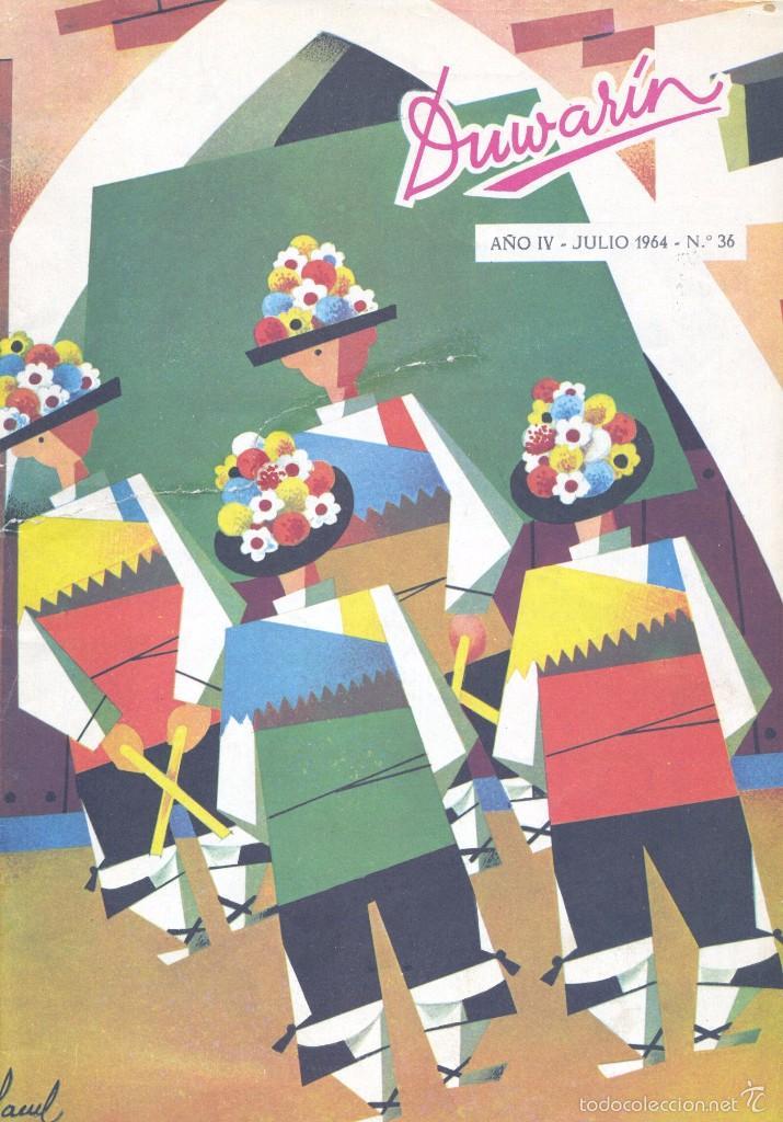 DUWARIN Nº36. HISTORIETAS DE JARBER, LÓPEZ BLANCO, GARCÍA PIZARRO, BLANES, GABI Y OTROS (Tebeos y Comics - Tebeos Otras Editoriales Clásicas)