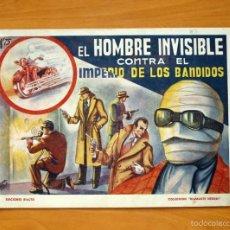 Tebeos: DIAMANTE NEGRO Nº 3-EL HOMBRE INVISIBLE - EDICIONES RIALTO 1944. Lote 56825993
