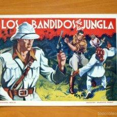 Tebeos: DIAMANTE NEGRO Nº 9-LOS BANDIDOS DE LA JUNGLA - EDICIONES RIALTO 1944. Lote 56826210