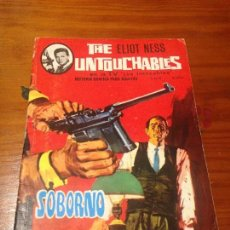Tebeos: THE UNTOUCHABLES / LOS INTOCABLES Nº 2. SOBORNO. ELIOT NESS. ARTFI 1966. E VILA.. Lote 56870670
