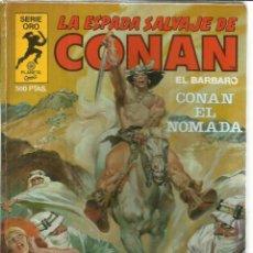 Tebeos: LA ESPASA SALVAJE DE CONAN. PLANETA. MADRID. 1982. Lote 57060280