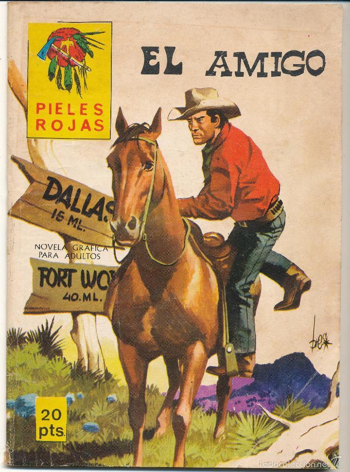 PIELES ROJAS Nº 127. EDITORIAL VILMAR (50 PÁGINAS) (Tebeos y Comics - Tebeos Otras Editoriales Clásicas)